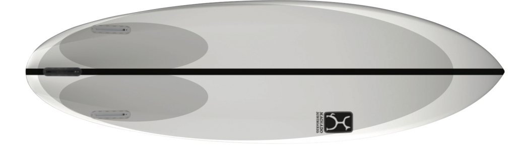Glazer firewire rob machado thruster bottom concave